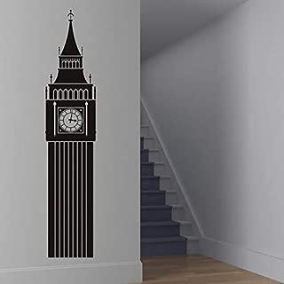 N.SunForest Big Ben Wall Sticker UK Landmark Wall Decal London Home Decor