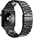 Simpeak Armband kompatibel mit Apple Watch 44mm 42mm Series 6/SE/5/4/3/2/1, Edelstahl Uhrenarmband...