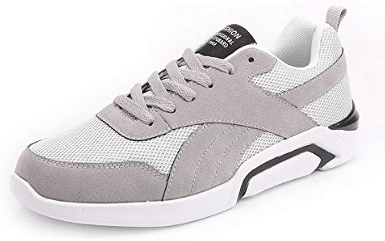 WDDGPZYDX Casual shoes Men Breathable Autumn Summers Mesh shoes Brands shoes fashion Non-slip Comfortable Superstar Sneakers