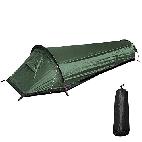 WanXingY Ultralight Tent Backpacking Tent Outdoor Camping Sleeping Bag Tent Lightweight Single Person Tent (Color : Multi)