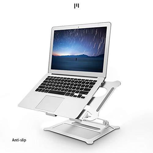 Yidata Laptop Stand Holder,Foldable Portable Aluminum Alloy Multi-Angle Adjustable Air-Ventilation Ergonomic Notebook Support Tray