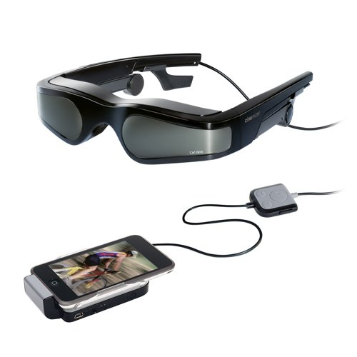 Carl Zeiss Cinemizer Videobrille für Apple iPod schwarz