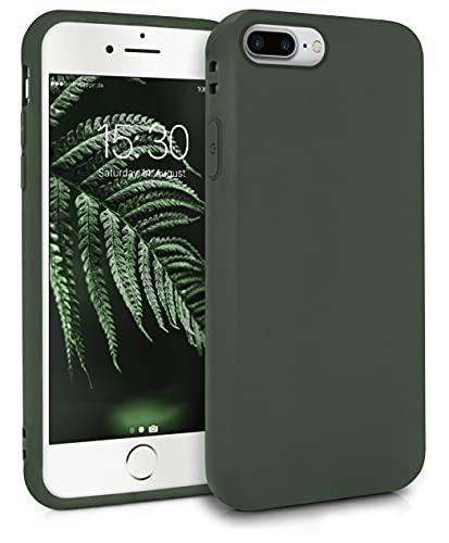 MyGadget Cover per Apple iPhone 7 Plus / 8 Plus - Custodia Protettiva in Silicone Morbido – Case TPU Flessibile - Protezione Antiurto & Antigraffio Verde