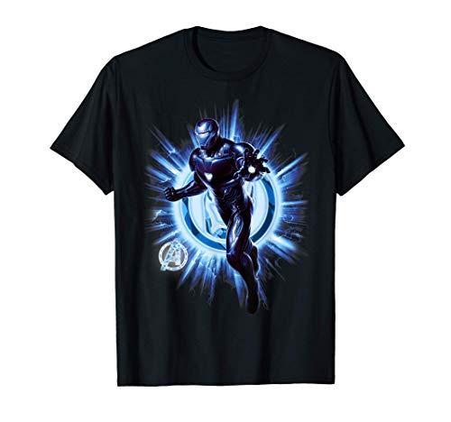 Marvel Avengers Endgame Iron Man Blast Camiseta