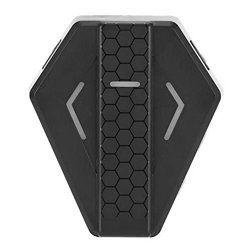Garsentx Adattatore Mouse e Tastiera per Switch, convertitore Mouse Tastiera USB per X-360 X-1 PS3 PS4 N-Switch Console di Gioco Gamepad(Nero)