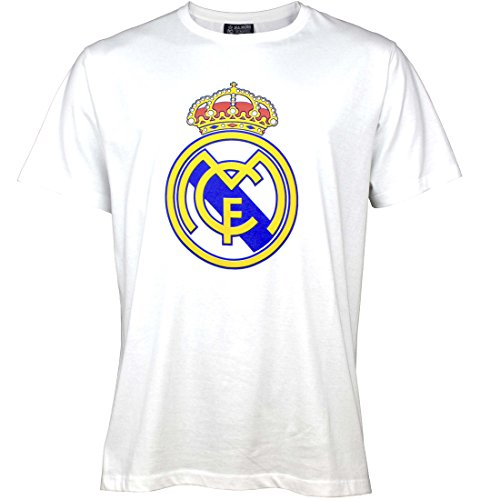 Real Madrid Camiseta ESTAMP. Geen 2 Blanco T-3XL