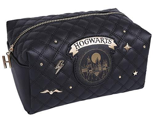 Zwart, Gewatteerde Waszak, Potlood Hoesje Zweinstein Harry Potter