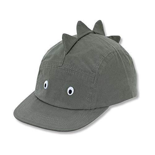 Sterntaler Baseball-Cap für Jungen mit Größenregulierung in Drachen-Optik, Alter: 18-24 Monate, Größe: 51, Dunkelgrün