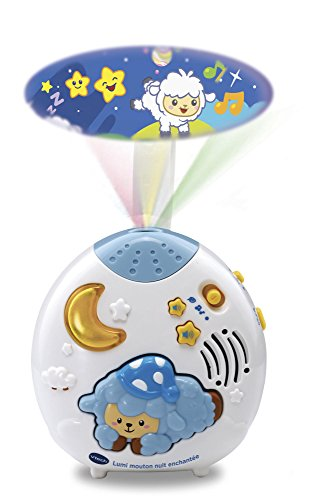Vtech - Lumi mouton nuit enchantée bleu - Version FR