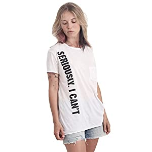 Women's T-Shirt  Printed Quote Relaxed Fit
