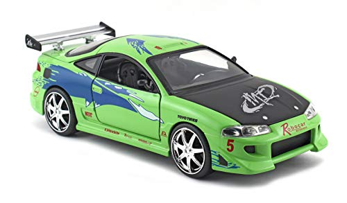 Jada Toys 97603G Mitsubishi Eclipse – Fast and Furious – schaal 1/24 – groen