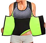 Rolewpy Women Neoprene Waist Trainer Corset Sweat Vest Sauna Body Shaper Cincher Workout Tank Top...