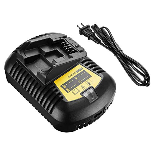 Dutyone DCB112 DCB107 Battery Charger Replacement For 12Volt 20V MAX Lithium ion Battery Charger DCB201 DCB203 DCB204 DCB205 DCB206 Dewalt 20Volt 12Volt Chargers DCB606 DCB120 DCB105 DCB115 DCB118