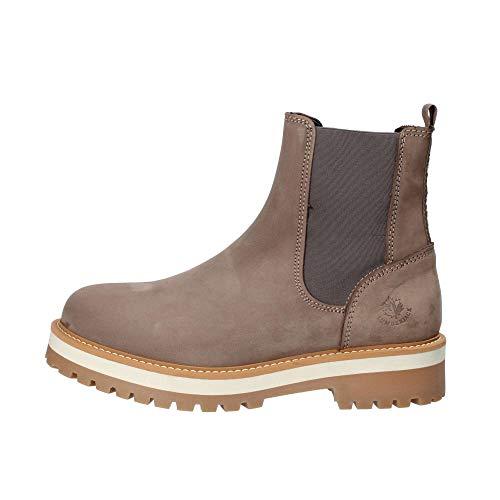lumberjack Damen Kristy Chelsea Boots, Beige (Taupe Cn002), 39 EU