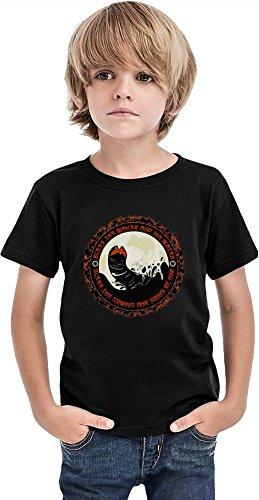 Shai Hulud Camiseta para niños, Negro, 2-3 Años