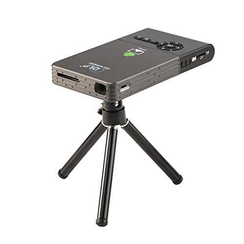 GWX Hoge-resolutie 3D-dpl-technologie, Wifi-120-inch 1080p mobiele telefoon met hetzelfde scherm, ingebouwde 5000-mAh lithiumbatterij