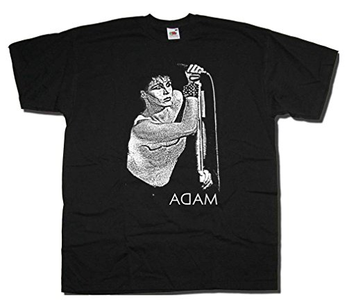 Adam Ant at the Mic Art T-shirt, S to XXL