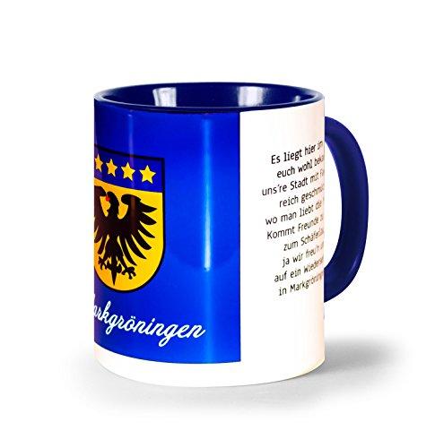 """Leondys Markgröningen Tasse """"Wappen"""", Markgröningen Souvenir,"""