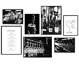 Hyggelig Home Premium Poster Set - 7 passende Bilder im stilvollen Set als