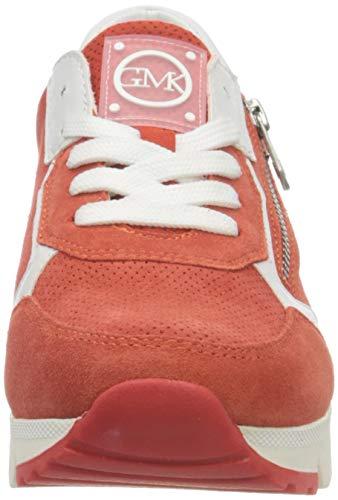 MARCO TOZZI by Guido Maria Kretschmer 2-2-83703-26 Veloursleder Sneaker, Zapatillas Mujer, Fire Comb, 40 EU