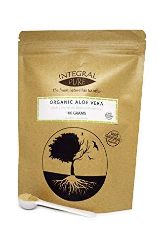 Bio Aloe Vera Pulver | Bio-zertifiziert | Aloe Vera Powder (85g)