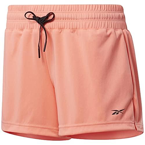 Reebok Tape Pack Women Shorts (M, Coral)