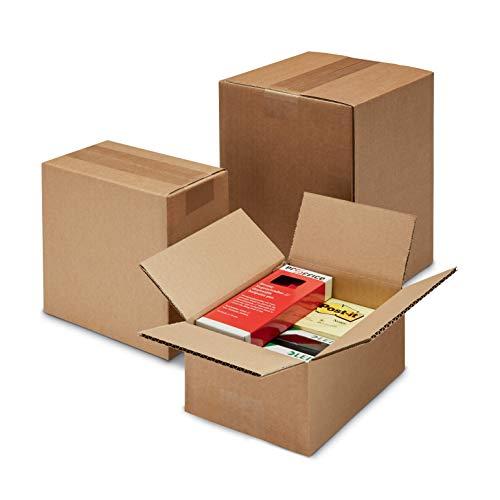 ratioform - Scatola di cartone per imballaggi, spedizioni e traslochi - MISURE 18 x 12 x 12 cm