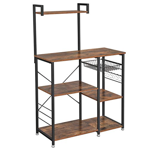 VASAGLE Baker's Rack with Shelve...