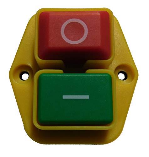 LESCHA Ersatzteil | Ein-/Aus Schalter für Betonmischer ABM P135L / ABM P150L / FM P135L / FM P165L / HMP 135 / SBM P135L / SBM P150L / SBM P165L