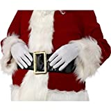 Fever Damen Kurze Handschuhe, One Size, Weiß, 0190