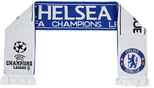 Original FC Chelsea London FAN Schal/Scarf NEU UEFA Champions League UCL