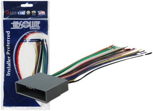 amazon.com: absolute usa h812/1722 radio wiring harness for honda/civic  crv/pilot 2006-2010 power 4 speaker (70-1722, hwh-812) : electronics  amazon.com