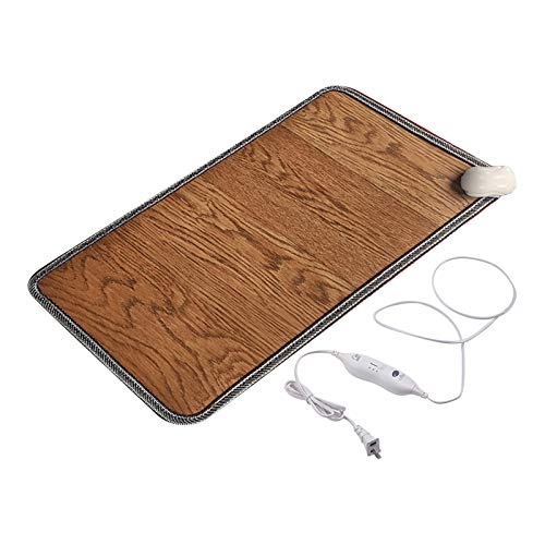 Janly Clearance Sale Small Appliances, Electric Foot Feet Heating Warmer Pad Heated Floor Carpet Mat, Carbon Crystal Warming Pads, Floor Heating Pads, Winter Heating Pads, Foot Warmers, Office, Home