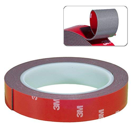 Cinta Adhesiva de 3M de Doble Cara extrafuerte Auto Espejo Montaje Tiras Adhesivas Adhesivos Adhesivo Adhesivos ronden 20mm x 3m