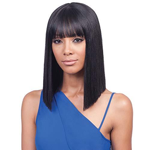 Bobbi Boss Synthetic Hair Lace Front Wig MLF184 Yara Bang (TT1B/DTEAL)