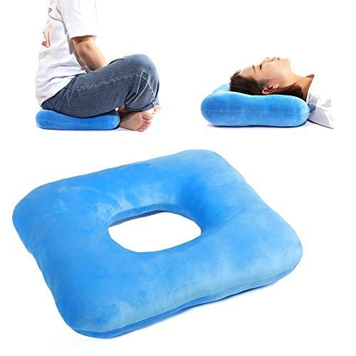 Anti-Dekubitus Polster Atmungsaktives Komfort-Sitzkissen Medizinische für Hämorrhoiden, Schwangerschaft, Druckstellen, Rollstuhl, längeres Sitzen, für den täglichen Gebrauch Behandlung Hämorrhoiden