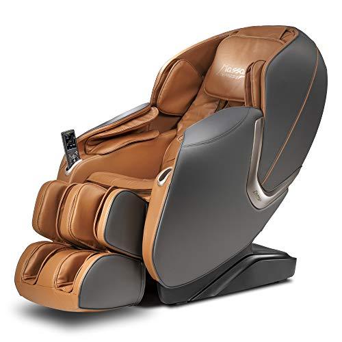 Poltrona de Massagem Grace - Massage Express - Cor Cinza/Camel (110)