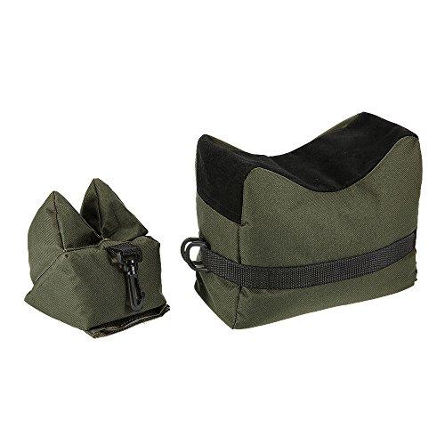 La borsa per il tiro a segno è disponibile in due pezzi, che possono essere agganciati per assicurarti di non perderli. Migliora l'accuratezza del tiro e aiuta a focalizzare il bersaglio. La superficie autoserrante può anche afferrare il tuo fucile, ...
