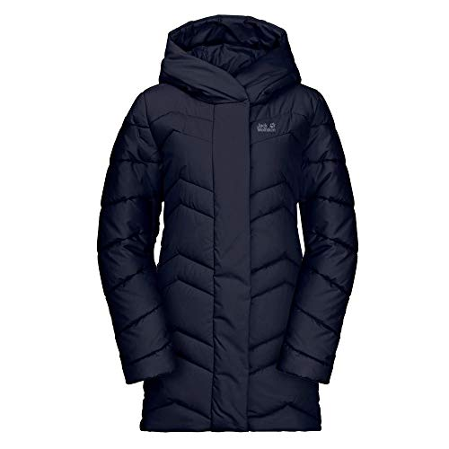Jack Wolfskin Damen Kyoto Coat W Steppmantel, Midnight Blue, L