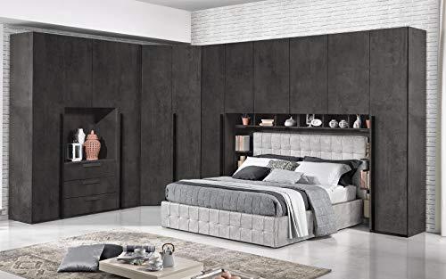 Dafne Italian Design Dormitorio completo con puente – óxi