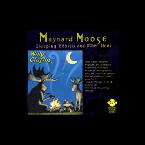 Maynard Moose audiobook cover art