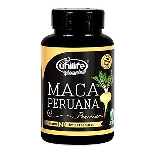 Maca Peruana Premium Pura Unilife 120 capsulas
