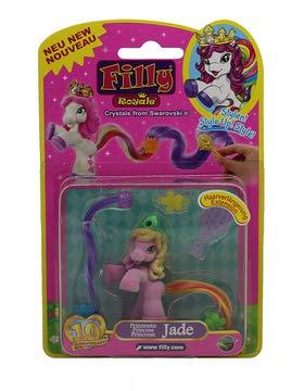 Dracco Filly Royale Prinzessinnen, Pferdchen zum stylen mit bunten Schweif, Jade
