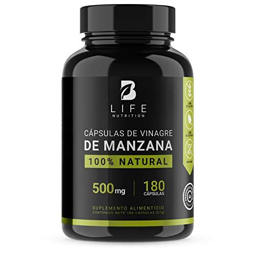 Vinagre de Manzana 500 mg 180 Cápsulas B L