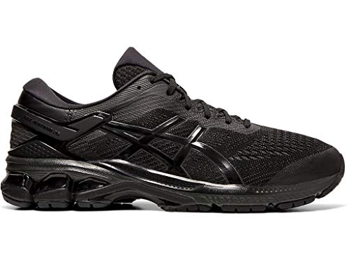 ASICS Men's Gel-Kayano 26 Running Shoes, 11M, Black/Black