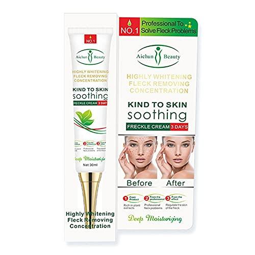 Lbaby 30ml Whitening Cream Freckle Removal Cream Skin Lightening Brightening Cream Age Spots Treatment for Face Hyperpigmentation