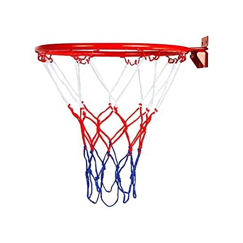 LAZNG Juguetes de Baloncesto Colgando Baloncesto Mueble de Pared Moja de aro de aro para al Aire Libre en Interiores Muy Duradero Cuelga de Baloncesto Hoop Toy Basketball Hoop Canasta de Baloncesto