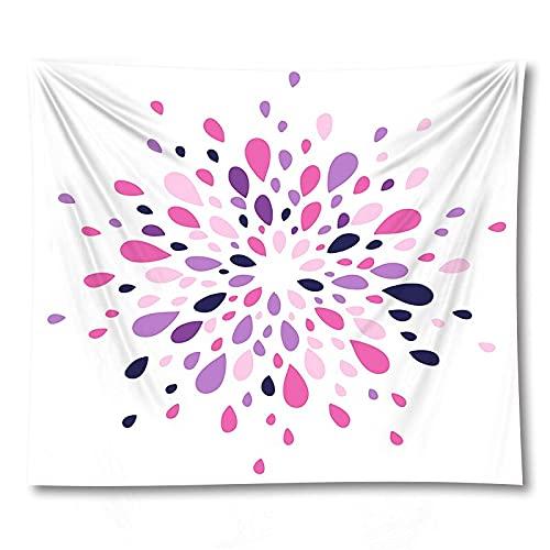 PPOU 3D Mandala Stampa stuoia di Yoga Wall Art arazzo decorazione Della parete di casa coperta sfondo stoffa arazzo A12 130x150cm
