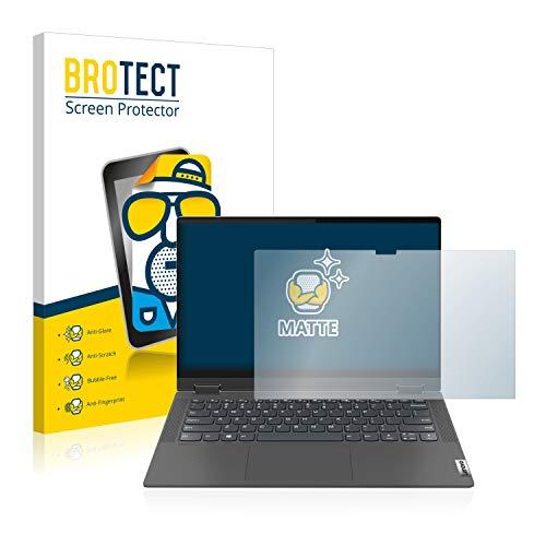 brotect 1-Pack Screen Protector Anti-Glare compatible with Lenovo IdeaPad Flex 5 14' Screen Protector Matte, Anti-Fingerprint Protection Film