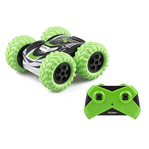 EXOST RC 20257 360 CROSS by Silverlit, ferngesteuertes Auto, 2.4 Ghz, Spielzeugauto, beidseitig befahrbar, geländetauglich, 360° Stunts, Maßstab 1:18, Farbauswahl zufällig, ab 5 Jahren
